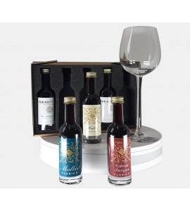 """Coffret de dégustation """"Tannins et Rondeurs"""" 5 vins Packungen Durigutti"""